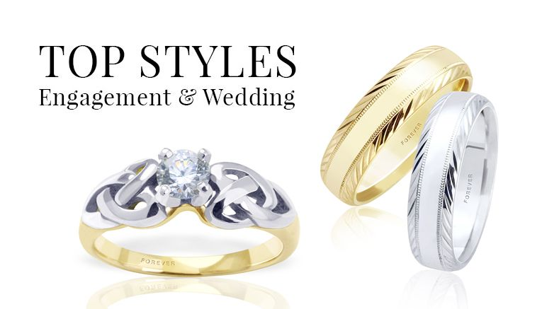 Top Styles Engagement Rings Wedding Bands